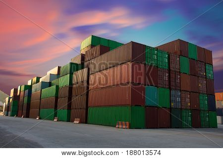 container for import export to customer for opportunity of business.