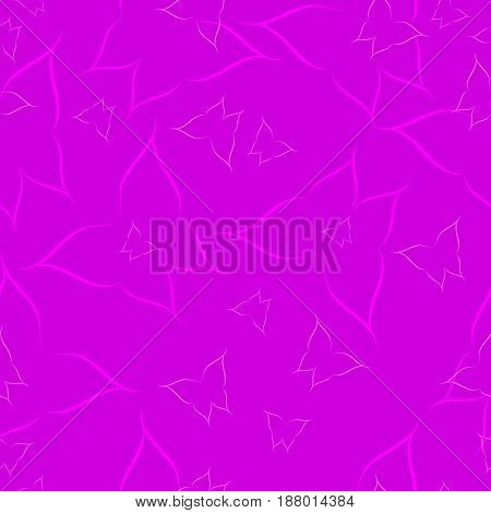 Delicate silhouettes of butterflies on a purple background, seamless image