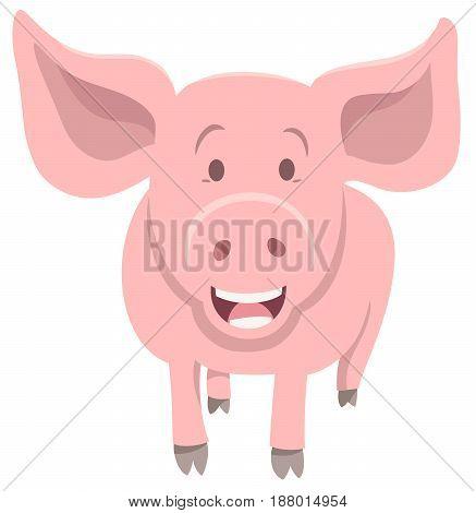 Piglet Farm Animal Character