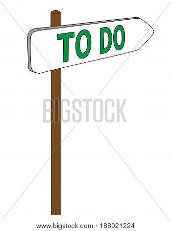 new Road sign right way chioce answer question to do