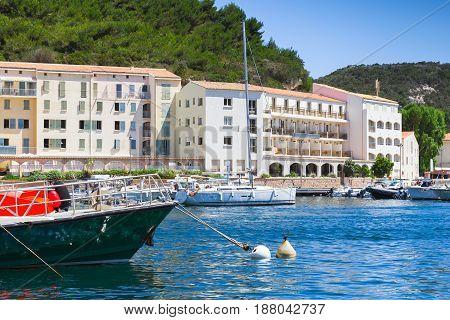 Bonifacio Port View, Corsica, France