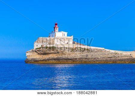 Madonetta, Lighthouse Tower,  Island Corsica