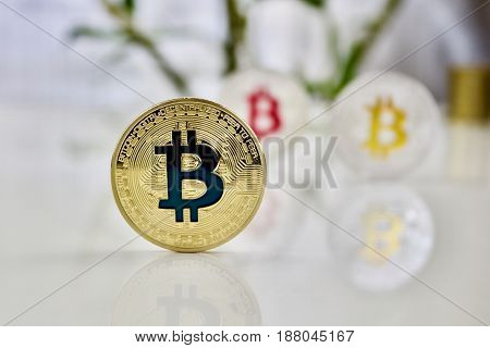 Colored Bitcoin Coins