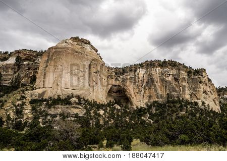 La Ventana in El Malpais National Monument in New Mexico south of Gallup.