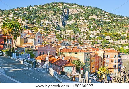 The Old Town Of Villefranche