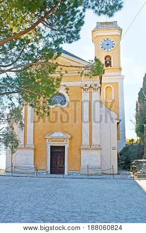 The Old Church In Eze