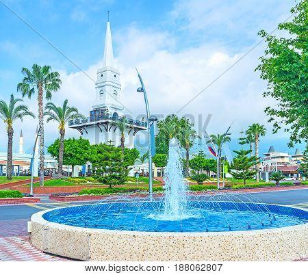 Fountain In Ataturk Boulevard