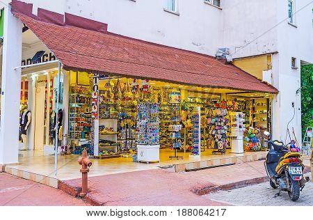 The Souvenir Shop In Kemer