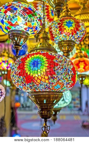 The Colorful Glass Of Arabian Lights