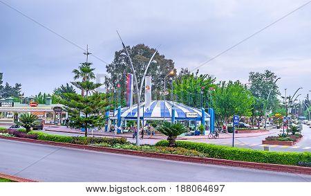 The Ataturk Boulevard