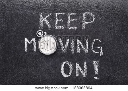 Keep Moving On Watch
