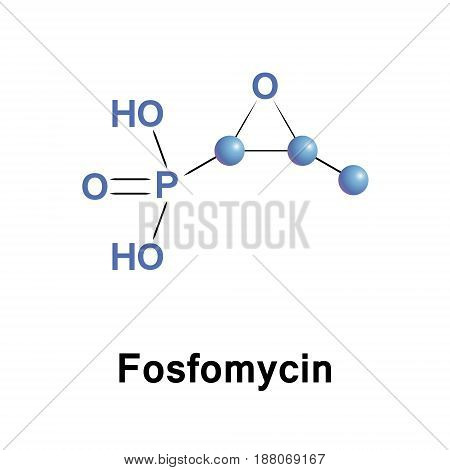 Fosfomycin, phosphomycin or phosphonomycin is a broad-spectrum antibiotic produced by certain Streptomyces species, although it can now be made by chemical synthesis
