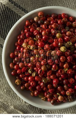 Dry Organic Red Peppercorns