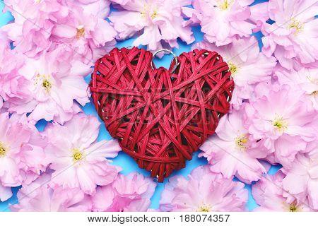 Heart And Sakura