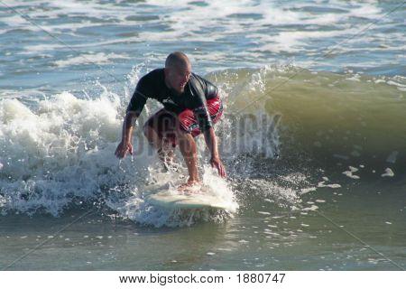 Surfer Squat