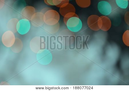 Abstract blur bokeh background. Glittering bokeh stars.