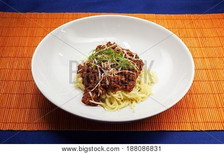 Minced Meat And Pasta