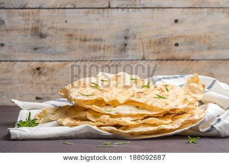 Homemade Hot Chapati