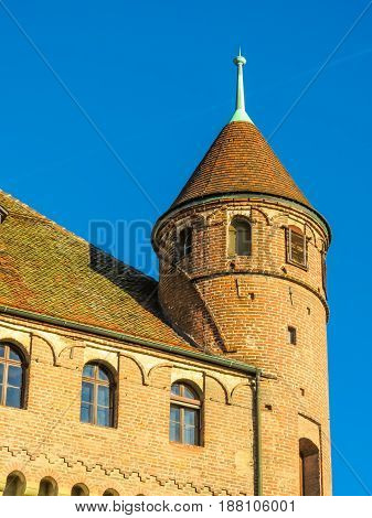 Tower of the Chateau Saint-Maire, Lausanne, Switzerland