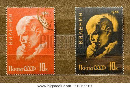 Lenin stamps
