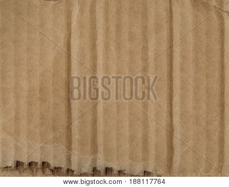 Old cardboard vintage texture background, close view