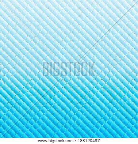 Soft blue square background, copy space, vector illustration.