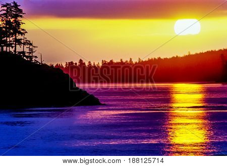 Vancouver Island located in British Columbia Canada is the largest Pacific island east of New Zealand