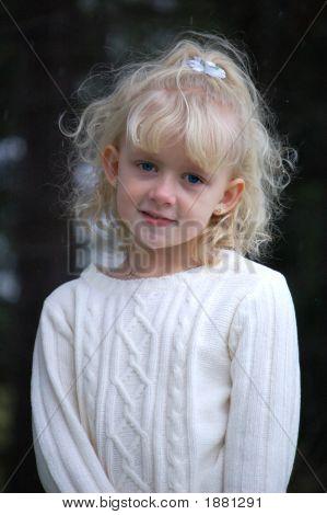 Smiling Blond Girl