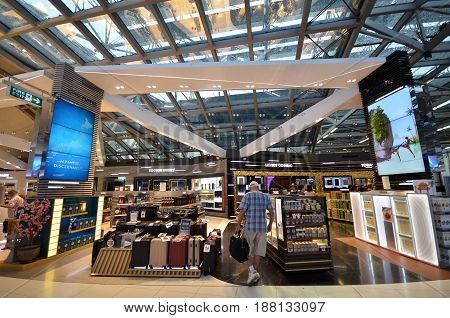Shopping At Suvarnabhumi Airport, Bangkok