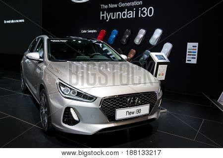 Hyundai I30 Car