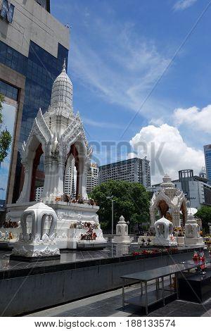 Ganesha Shrine Located At Bangkok