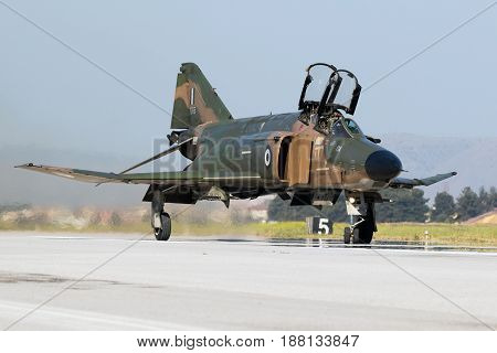 Greek Air Force F4 Phantom Fighter Jet Aircraft
