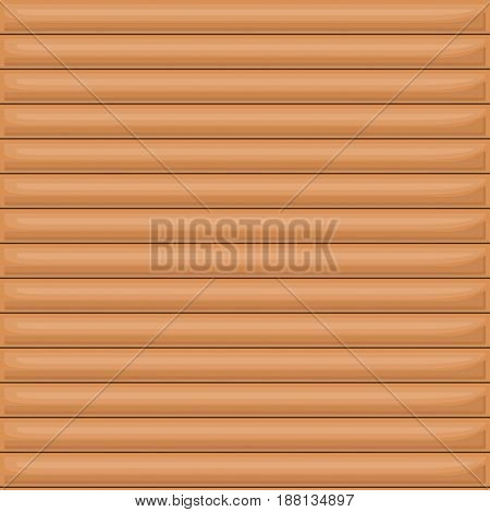 colorful background with wall wooden vector illustration