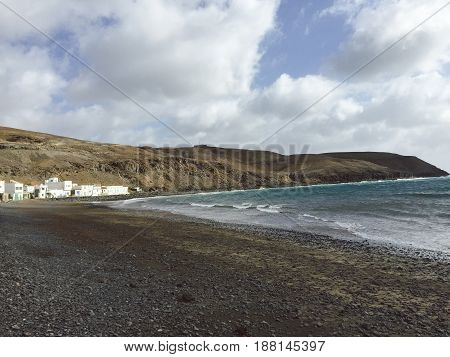 Bay of Pozo Negro, Fuerteventura Canary Islands.
