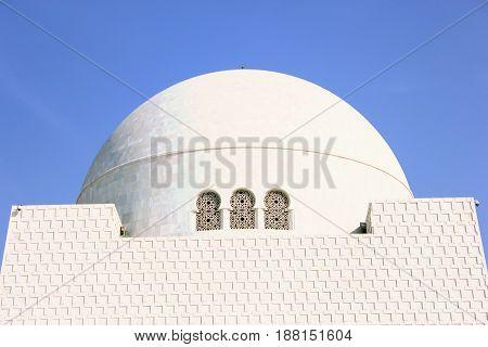 Beautiful View of Mazar-e-quaid - Mohammad Ali Jinnah Karachi Pakistan - 20/12/2012
