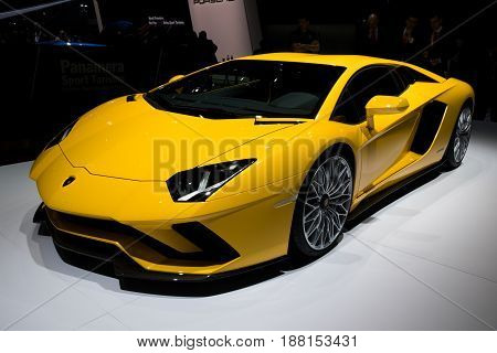 Lamborghini Aventador S Sports Car
