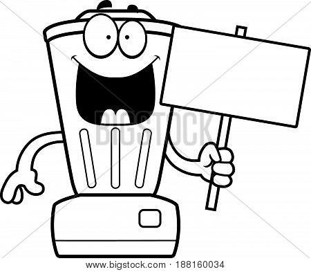 Cartoon Blender Sign