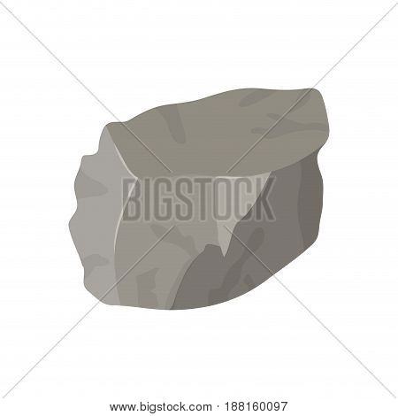color background with lump of rock vector illustration