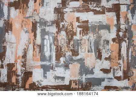 Concrete Wall Background Texture, Colourful Pattern