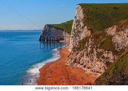 Durdle Door, Dorset, Jurassic Coast, England, United Kingdom