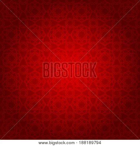 seamless ramadan pattern and background vector illustration