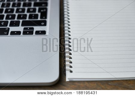 Studying Working Time with Notebook and Laptop