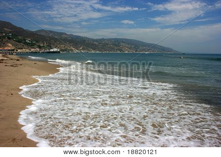 Malibu Beach, Los Angeles, California
