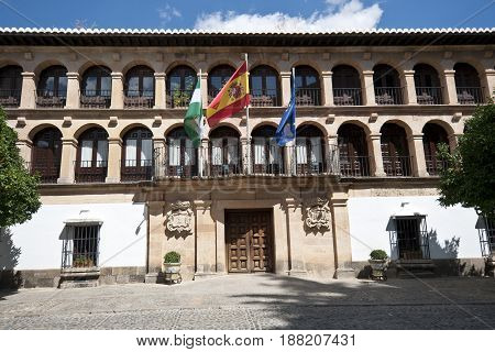 City hall of Ronda, Malaga, Andalusia, Spain
