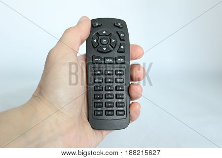 a High tech remote control technology withe background