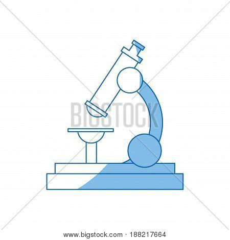 school microscope science biology icon vector illustration