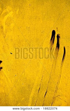 Dirty yellow industrial background