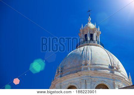 National Pantheon - Church of Santa Engracia in Lisbon Portugal