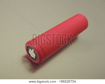 Common type 18650 lithium ion battery for use in laptops electric cars power tools etc.