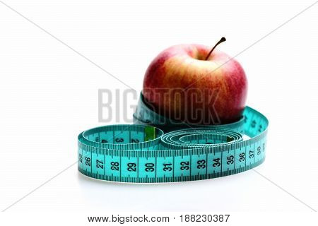 Concept Of Weight Management, Healthy Nutrition And Vitamin Diet